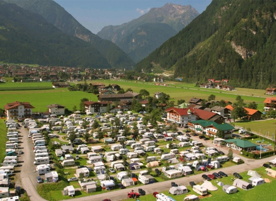 Camping Mayrhofen - all year round camping (Austria)
