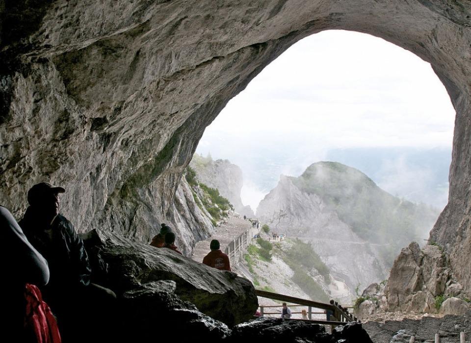 EisReisenWelt - ice caves (Austria)