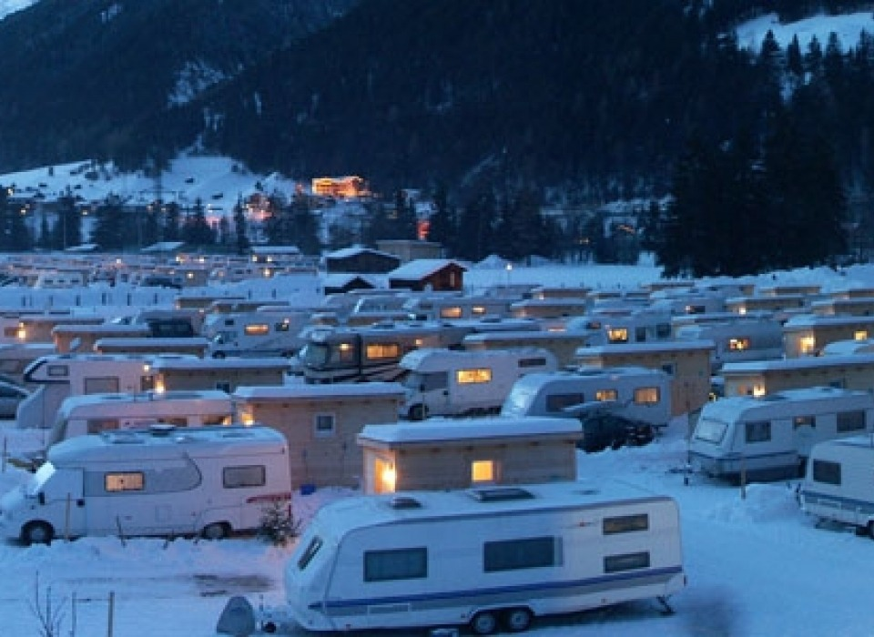 Camping Arlberg - all year round camping (Austria)