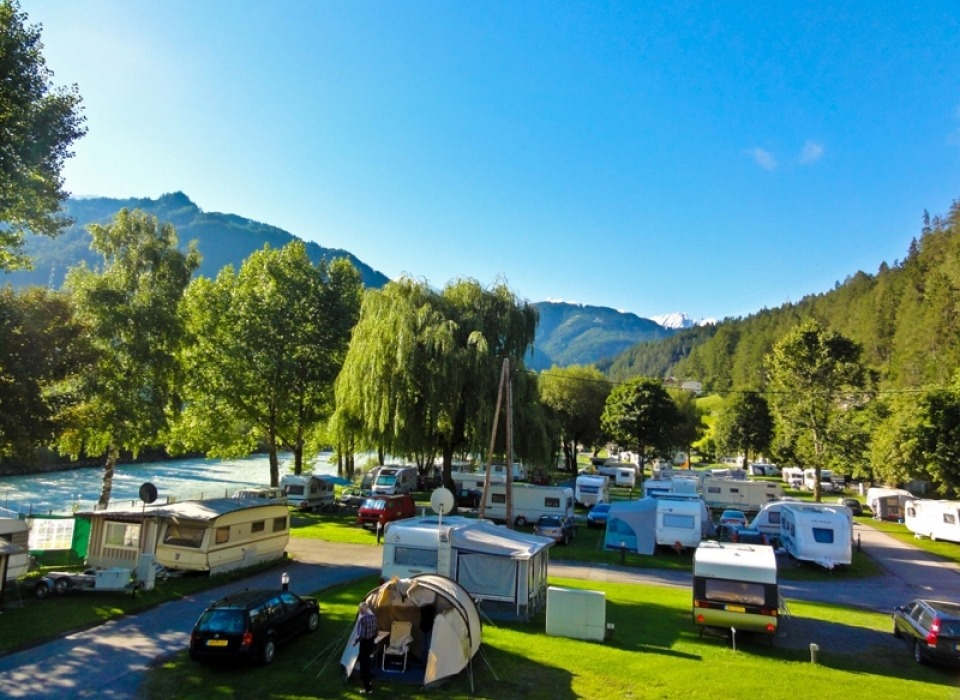 Camping Tyrol Prutz - all year round camping (Austria)
